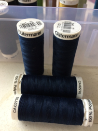 Guterman kleur 11 donkerblauw  200m