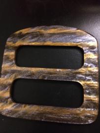 grote sjaal speld met gleuven maat 90 mm