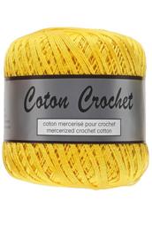 Coton Crochet 10/nr 371 Geel
