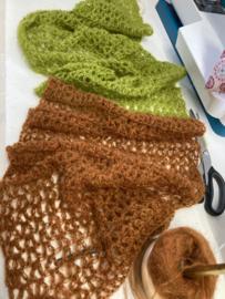 Pakket + patroon sjaal Jalobra 2 kleuren
