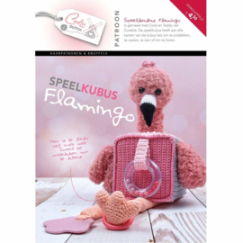 patroonboekje speelkubus flamingo