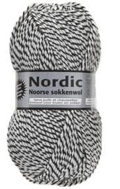 Nordic 4-02  Wit/Zwart