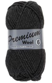 Premium Wool 6  002 Donker Grijs