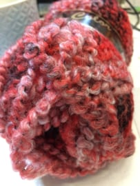 Bouclé Color Rood