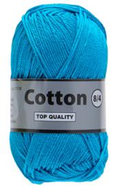 Cotton  8/4 klnr 515 midden blauw nieuw
