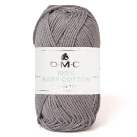 DMC Baby Katoen Donker Grijs