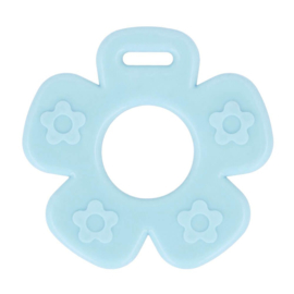 bloem open blauw