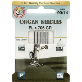 organ needles eco-pack ELx705 CR 90/14