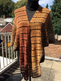 Omslagdoek schouder warmer  wol