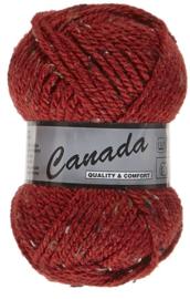 Canada  Tweed nr 440 Donkerrood