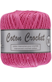 Coton Crochet 10/nr 39 Hard Roze