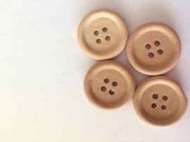houten knoop 30 stuks
