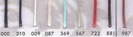 Wax koord 1.5 mm 210