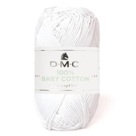 DMC Baby katoen Wit