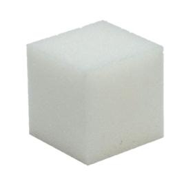 Schuimrubber kubus 10x10cm