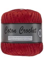 Coton Crochet 10 043  Rood