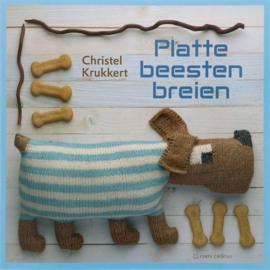 platte beesten breien   Kristel krukkert