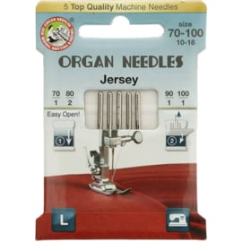 Organ needles eco-pack Jersey 70-100
