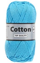 coton 4/8 klnr 838 aqua blauw