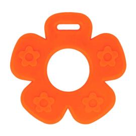 Bijtring  Bloem  Oranje open