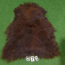 Brown Icelandic sheepskin (110 x 80)