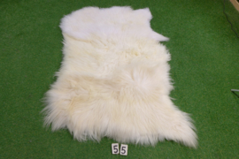 Wit IJslands schapenkleed (Trio) 165 x 100