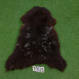Dark brown sheepskin (110 x 70)