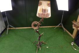 Edelhertgeweilamp (160 cm hoog)
