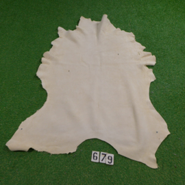 Red deer leather (white) 1.48 m²