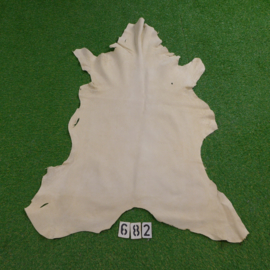 Red deer leather (white) 1.10 m²