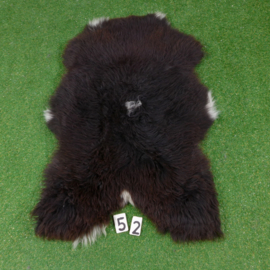 Dark brown sheepskin  (120 x 70)