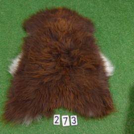 Brown Icelandic sheepskin (110 x 75)