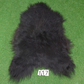Black Icelandic sheepskin (110 x 70)