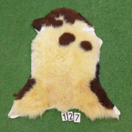 Brown / cream sheepskin (110 x 70)