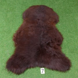 Dark red-brown sheepskin (115  x 80 )