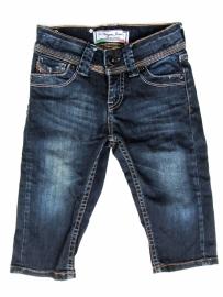 Stoere driekwart spijkerbroek van Vingino maat 128
