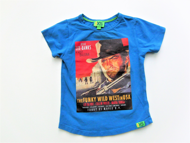 T-shirt van Funky XS maat 86