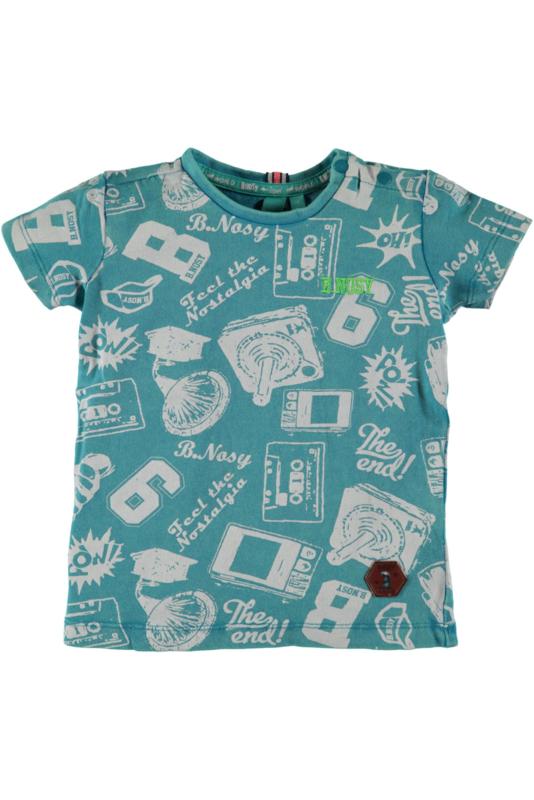 Stoer t-shirt van Bnosy in maat 80 en 86