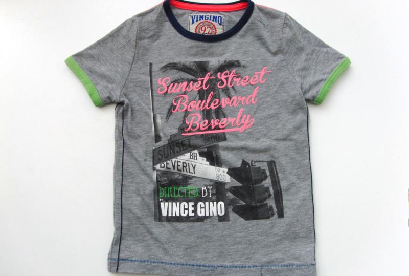 Stoer t-shirt Vingino maat 98