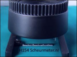 H154 Oppervlakte microscoop zwart 20X