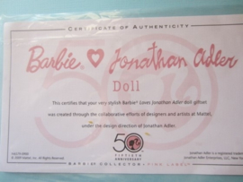 Barbie Loves Jonathan Adler