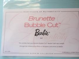 Brunette Bubble Cut