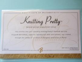 Knitting Pretty (Barbie en Skipper set)