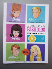 Boekje - REPRO - Exlusive Fashions by Mattel, book 4
