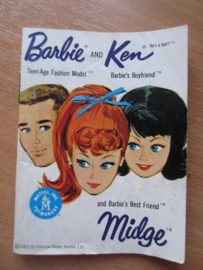 Boekje Barbie, Ken and Midge, wit