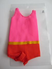 Francie Sun Set Malibu badpakje #1068 (1971-1972)   A