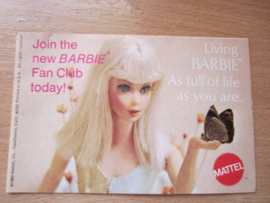Pamflet Barbie Club
