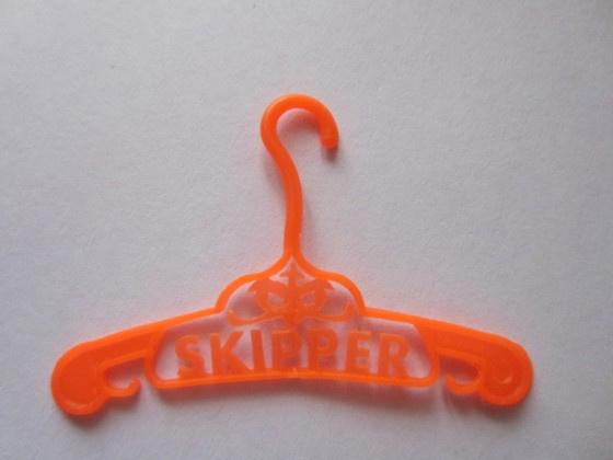 Kledinghanger Skipper, fel oranje