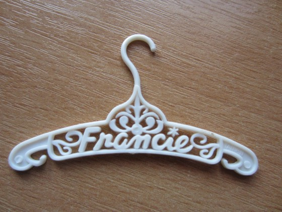 Kledinghanger Francie, wit