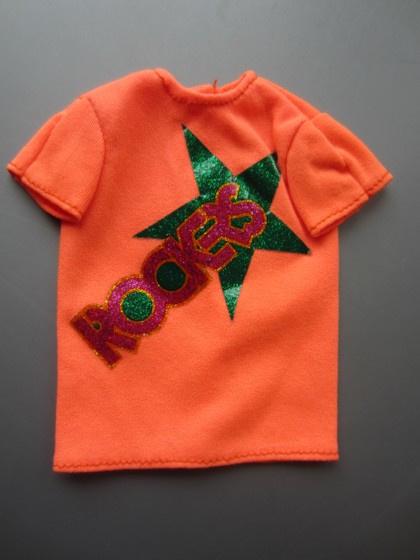 Rockers shirt, oranje ('85)
